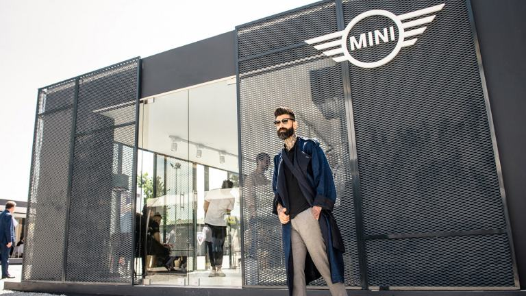 Looking from the outside in – MINI FASHION Capsule Collection at Pitti Uomo 92