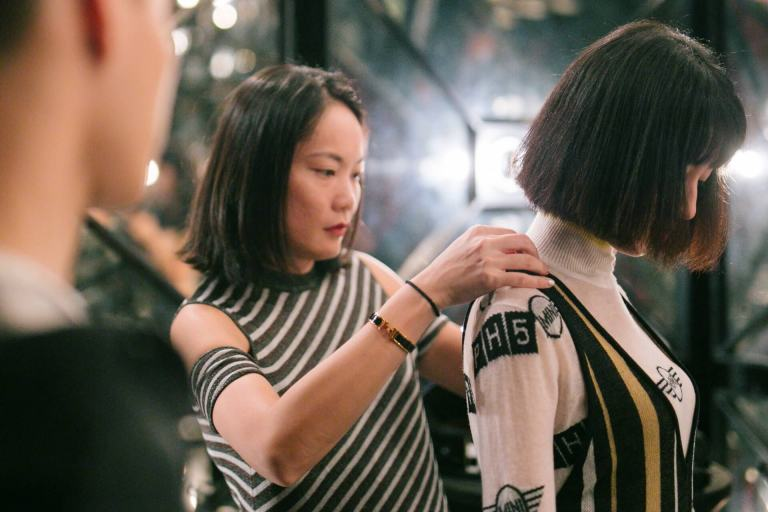 MINI FASHION – FIELD NOTES Capsule Collection – model wearing PH5 jumpsuit at Kuala Lumpur Fashion Week