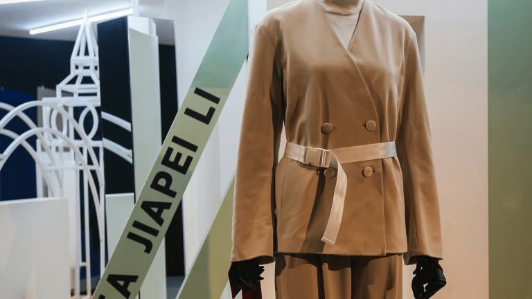 Andrea Jiapei Li designed five pieces for the Capsule Collection.