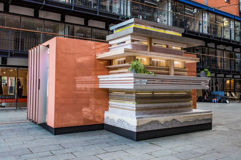 MINI LIVING Urban Cabin at the London Design Festival 2017.