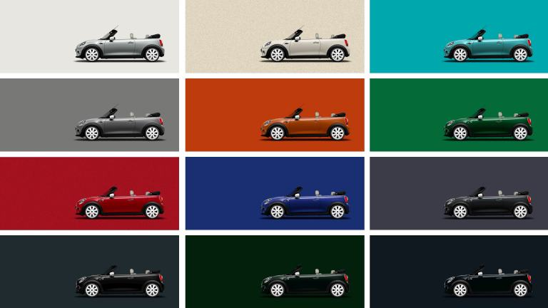 NEW MINI COLOURS