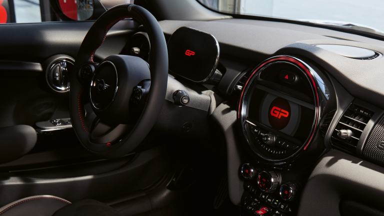 MINI John Cooper Works GP – cockpit - instrument cluster