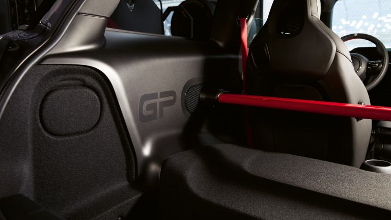 MINI John Cooper Works GP – load protection bar - side panels