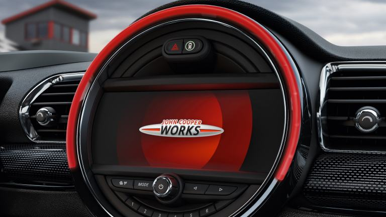 "MINi John Cooper Works – 8.8"" touchscreen – connectivity"