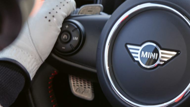 MINI John Cooper Works GP – 3D PRINTED PADDLES