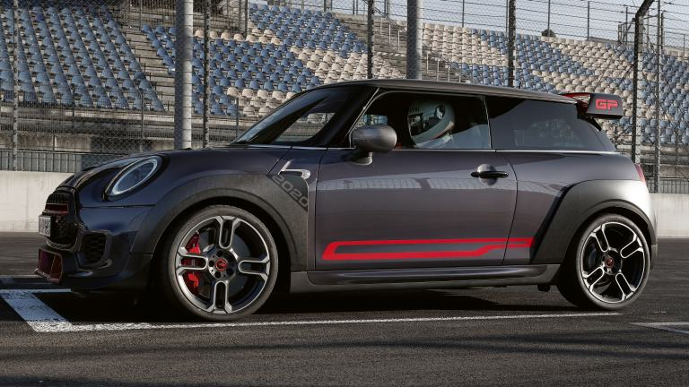 MINI John Cooper Works GP – side decals – Chili Red